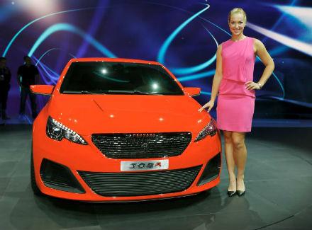 Сабин Лисицки стала лицом Peugeot