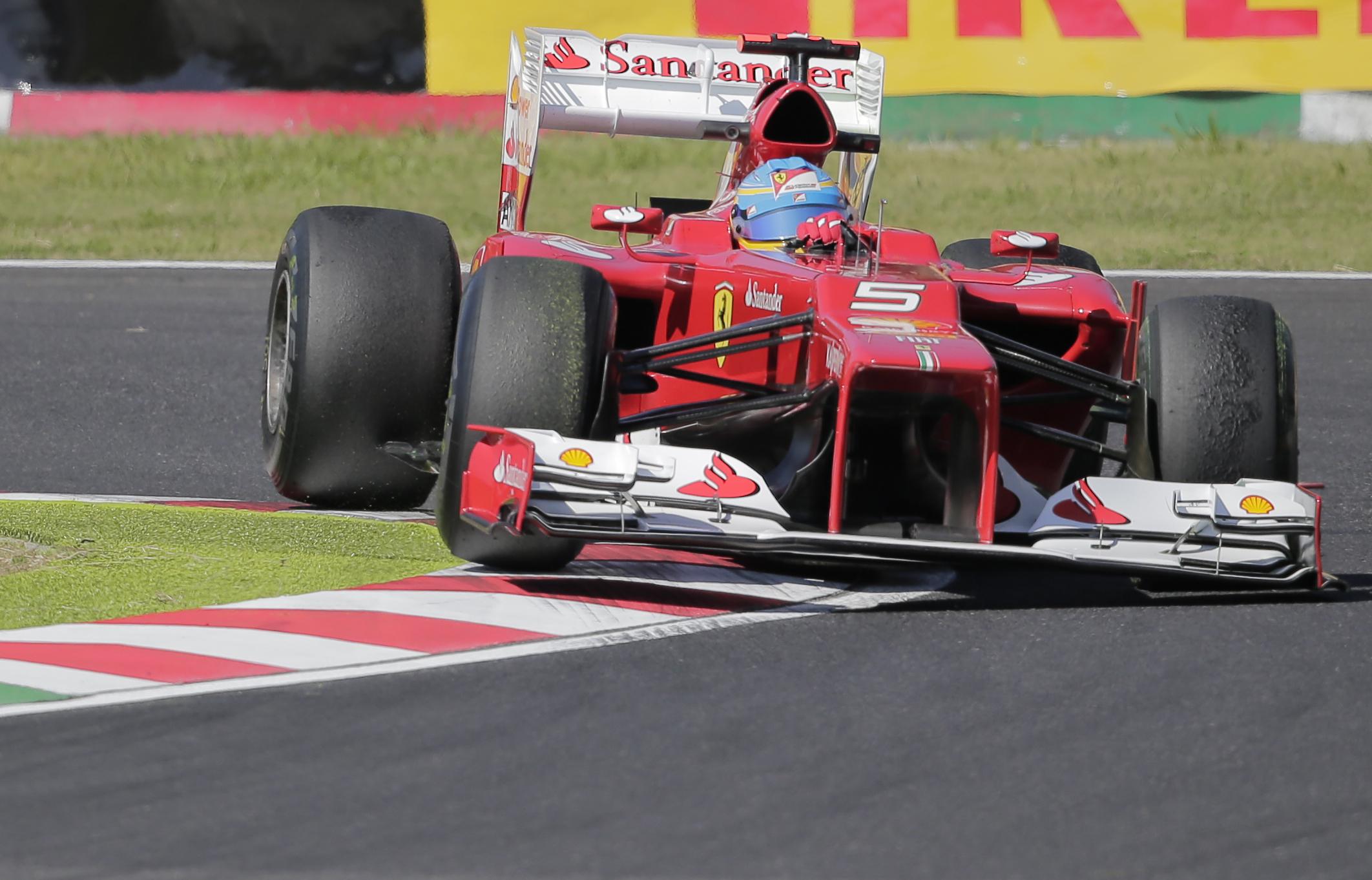 Алонсо на Ferrari будет сражаться за титул чемпиона