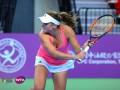 Козлова вышла в полуфинал турнира в Тайбэе, обыграв пятую сеяную