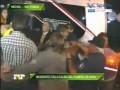 Нападающий Боки Хуниорс сломал два пальца в драке с фанатами