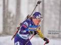 Меркушина выиграла женский масс-старт на чемпионате Украины