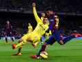 Барселона - Вильярреал Текстовая трансляция 1/2 финала Кубка Испании