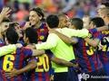 Особенности каталонского веселья. Барселона празднует Чемпионство