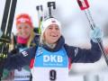 Биатлон: Пидгрушная - в топ-15 гонки преследования, Экхофф одержала победу