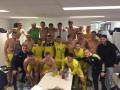 Ярмоленко приехал поддержать сборную в Бельгию, а после матча поздравил ребят в раздевалке