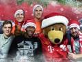 Веселые мишки. Игроки Баварии порадовали фанатов рождественскими фото