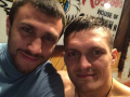 Ломаченко и Усик показали, как проводили свое детство