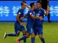 Китайский клуб на удачу перекрасил весь стадион