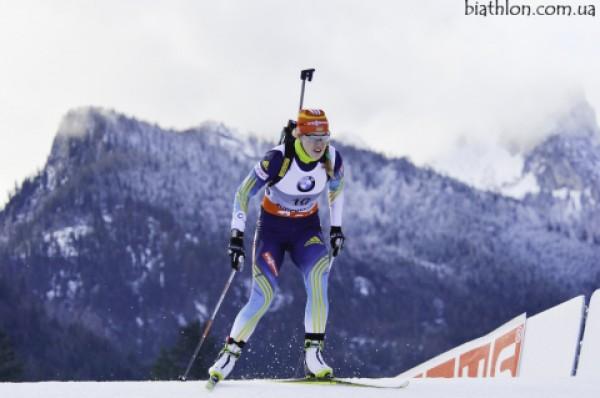 Юлия Джима вторую гонку подряд попадает в цветочную церемонию