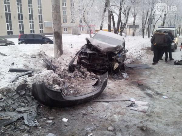 фото с места аварии с участием Майкона