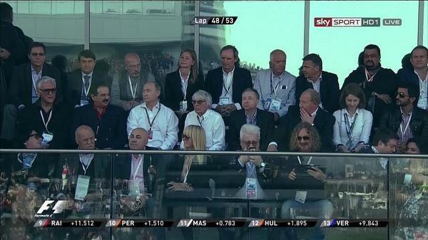 Элита России и ярые фанаты Формулы-1