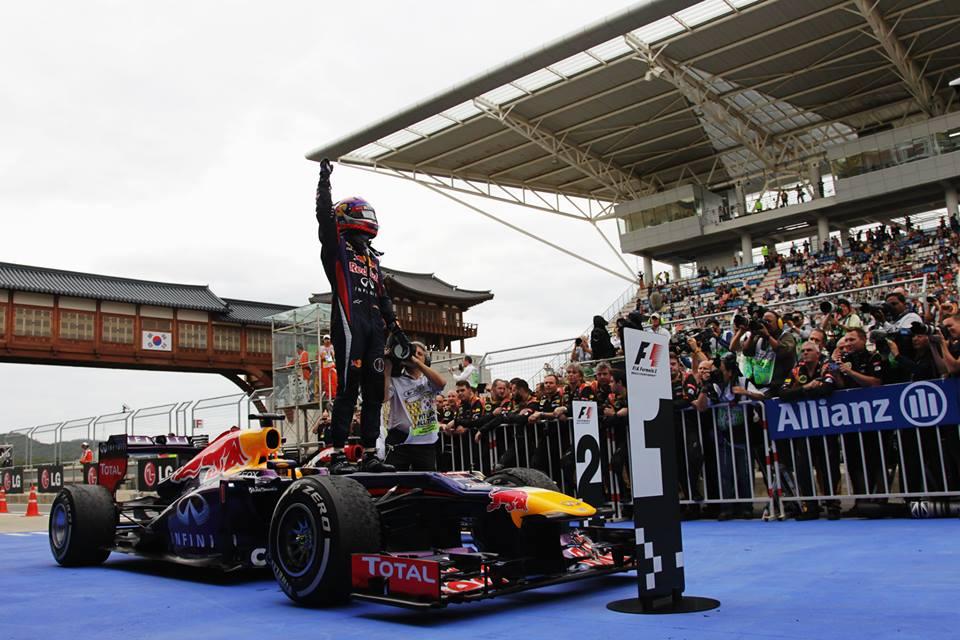 Феттель выиграл Гран-при Японии