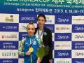 Украинская гимнастка Пограничная выиграла три медали на соревнованиях в Корее