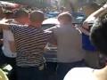 С ветерком. Фанаты Челси в Мюнхене прокатились на полицейской машине