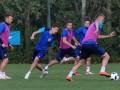 Сборная Украины провела первую тренировку в Италии