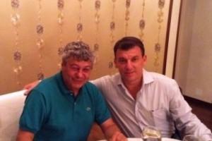 Мирча Луческу и Даниэль Продан