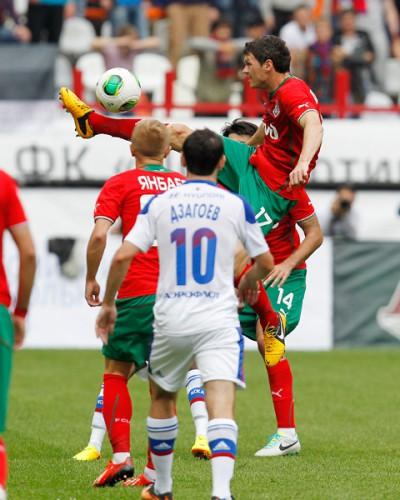 Тарас Михалик сыграл первый матч за Локомотив
