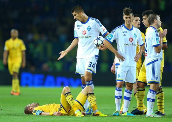 Динамо Киев уступил Металлисту 0:3