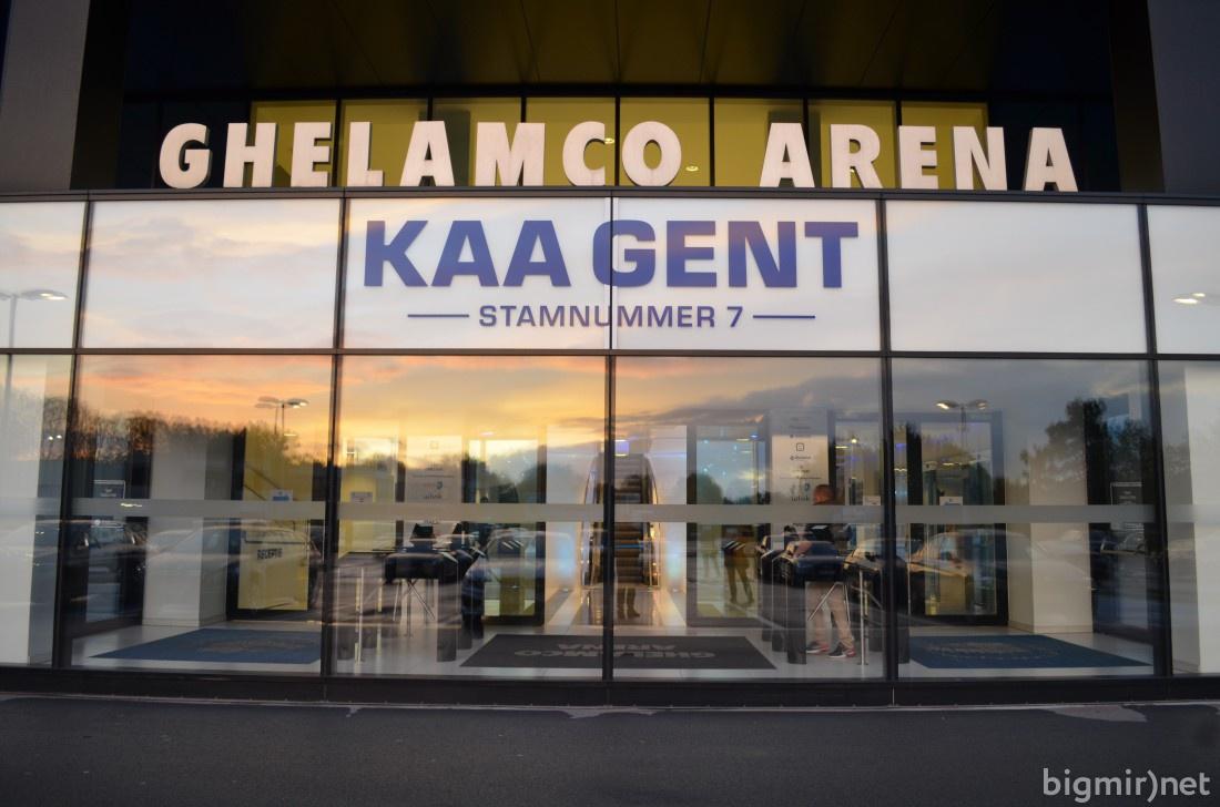 Главный вход Геламко Арена