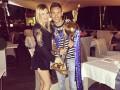 Футболист Динамо женился на известной украинской певице