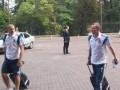 Сборная Украины прилетела во Львов на матч с Беларусью