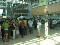Флешмоб. В Харькове протестировали пропускную способность аэропорта