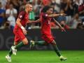 Гол сборной Португалии после фантастического паса пяткой от Нани