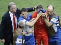 Защитник сборной Швейцарии попал в больницу с сотрясением мозга (фото)