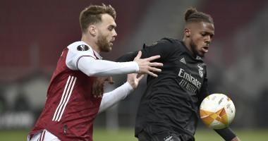 Арсенал — Бенфика 3:2 видео голов и обзор матча Лиги Европы