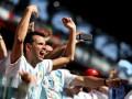 Аргентинцы шумно отпраздновали победу Нигерии над Исландией, словно собственную