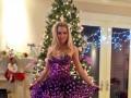 Теннисистка-красавица встретила Новый год в сказочном платье (ФОТО)