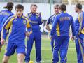 Сборная Украины готовится к матчу с голландцами в полном составе