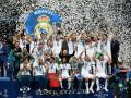 Счастливые триумфаторы: как Реал праздновал победу в киевском финале ЛЧ