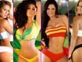 Парагвайские модели снялись для эротического календаря ЧМ-2014