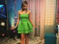 Ведущая телеканала Футбол 1 провела эфир в мини-платье