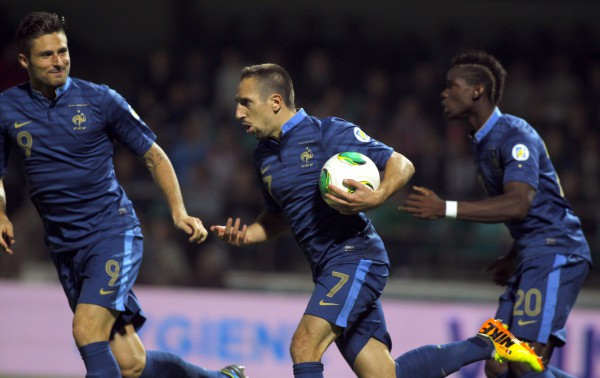 Стал известен состав сборной Франции на игры с Украиной