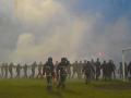 Полиция расследует беспорядки на матче Прикарпатье – Карпаты