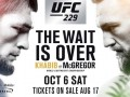Нурмагомедов – Макгрегор: видео онлайн трансляция боя UFC 229