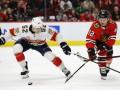 НХЛ: Флорида в ярком матче обыграла Чикаго, Рейнджерс по буллитам уступил Филадельфии