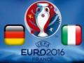 Германия - Италия: Где смотреть матч Евро-2016