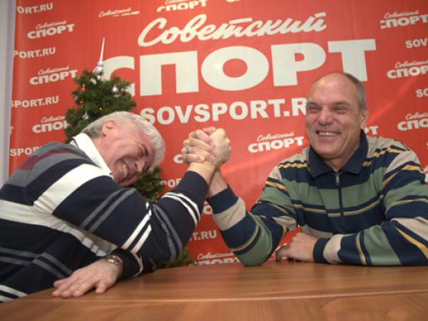 Евгений Ловчев и Александр Бубнов раньше частенько вместе песочили сборную России
