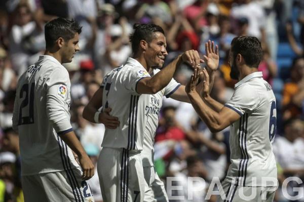 Реал забил пять мячей Осасуне