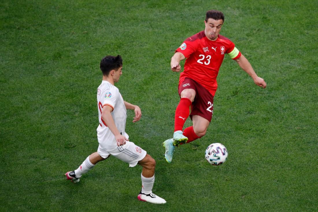 Швейцария - Испания