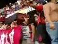 Колумбийские болельщики пронесли на трибуны стадиона гроб с мертвецом