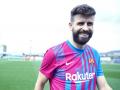 Барселона представила новую домашнюю форму на сезон-2021/22