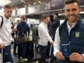 Сборная Украины вылетела в Лиссабон на матч с Португалией