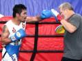 Пакьяо - Варгас: Фото с открытой тренировки боксеров