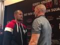 Ковалев и Шабранский впервые встретились лицом к лицу