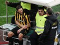 Чигринский получил перелом руки в матче Кубка Греции