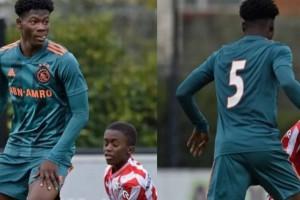 14-летний футболист Аякса поразил общество своим гигантским ростом
